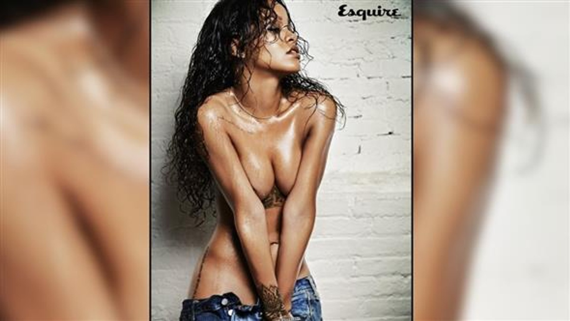 Topless Rihanna Turns Out To Be Quite The Chef