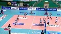 V-League GS Caltex vs. Korea Expressway, Woori Card vs. OK Savings Bank