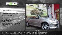 Annonce Occasion PEUGEOT 206 CC 1.6 16V 110 ROLAND GARROS BVA
