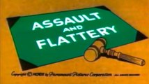Popeye - Assault and Flattery (1956)  Classic Animated Cartoon
