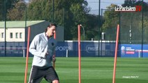 PSG. Zlatan Ibrahimovic a repris l'entraînement