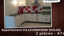 A louer - appartement - VILLEURBANNE (69100) - 2 pièces - 47m²
