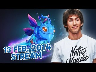 Dota 2 Stream: Na`Vi Dendi - Puck (Gameplay & Commentary)