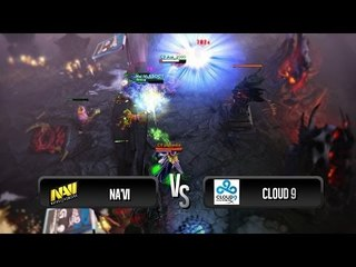 Highlights from Na'Vi vs Cloud 9 @ D2 Champions League S2