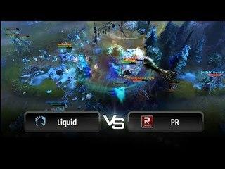 Teamfight by Team Liquid vs PR @ D2CL S2