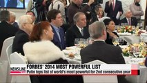 Putin tops Forbes' most powerful list, again