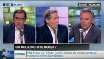 Brunet & Neumann : Grand oral de François Hollande: Vers une meilleure fin de mandat? - 06/11