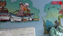 De belles fresques drôles en réanimation pédiatrique à l'hôpital sud de Rennes