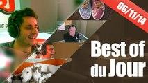 Best of vidéo Guillaume Radio 2.0 sur NRJ du 06/11/2014