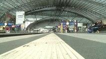 Les Allemands découvrent les importantes grèves des transports