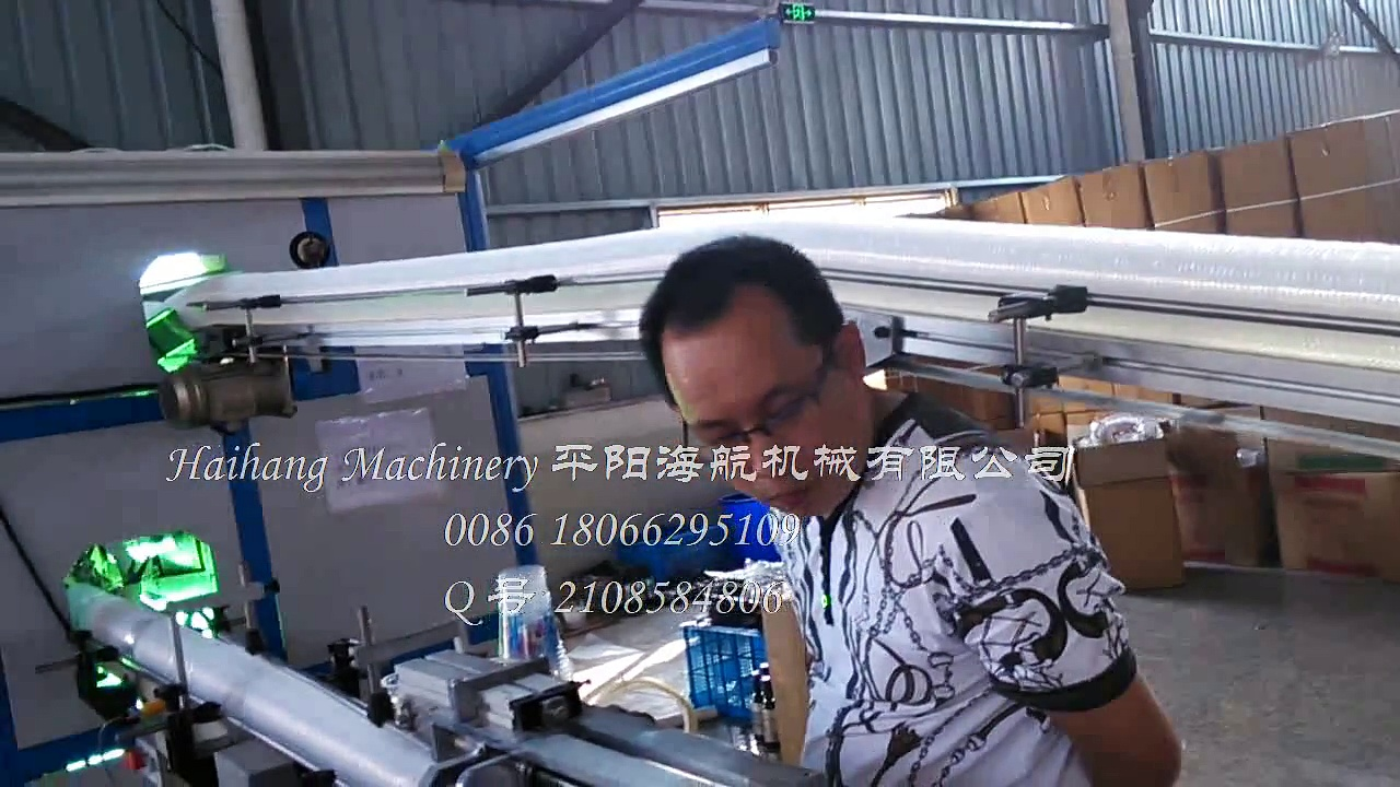 printed cups counting packing machine