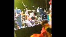 Fat Mike Kicks a Fan during a NOFX concert in Sydney