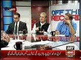 Kashif Abbasi Bamuqabla Absar Alam, Absar Alam Defending Govt Corruption