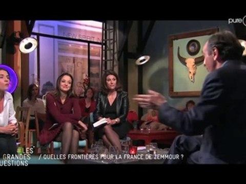 Vif accrochage entre Mazarine Pingeot et Eric Zemmour
