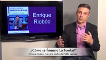 Enrique Riobóo, autor de 'La cara oculta de Pablo Iglesias'. 6-11-2014