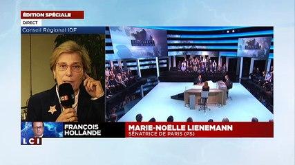 Marie-Noëlle Lienemann sur LCI le 6 novembre 2014 réaction à l'interview du Président de la République