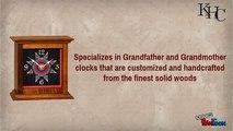 Buy grandfather clocks at Kauffmans Handcrafted Clocks
