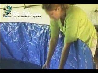 Criação de peixe em viveiros - Dividido em 2 parte - 02 Fish farming in ponds