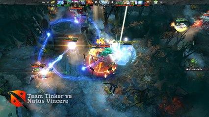 D2CL Season IV Highlights: Team Tinker vs Na'Vi