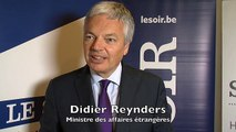 Good morning Europe itw Didier Reynders