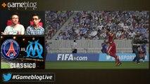 """PSG - OM : Le """"classico"""" sur FIFA 15 commenté par Gameblog !"""