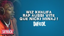Wiz Khalifa rap aussi vite que Nicki Minaj ! - Radio Libre de Difool