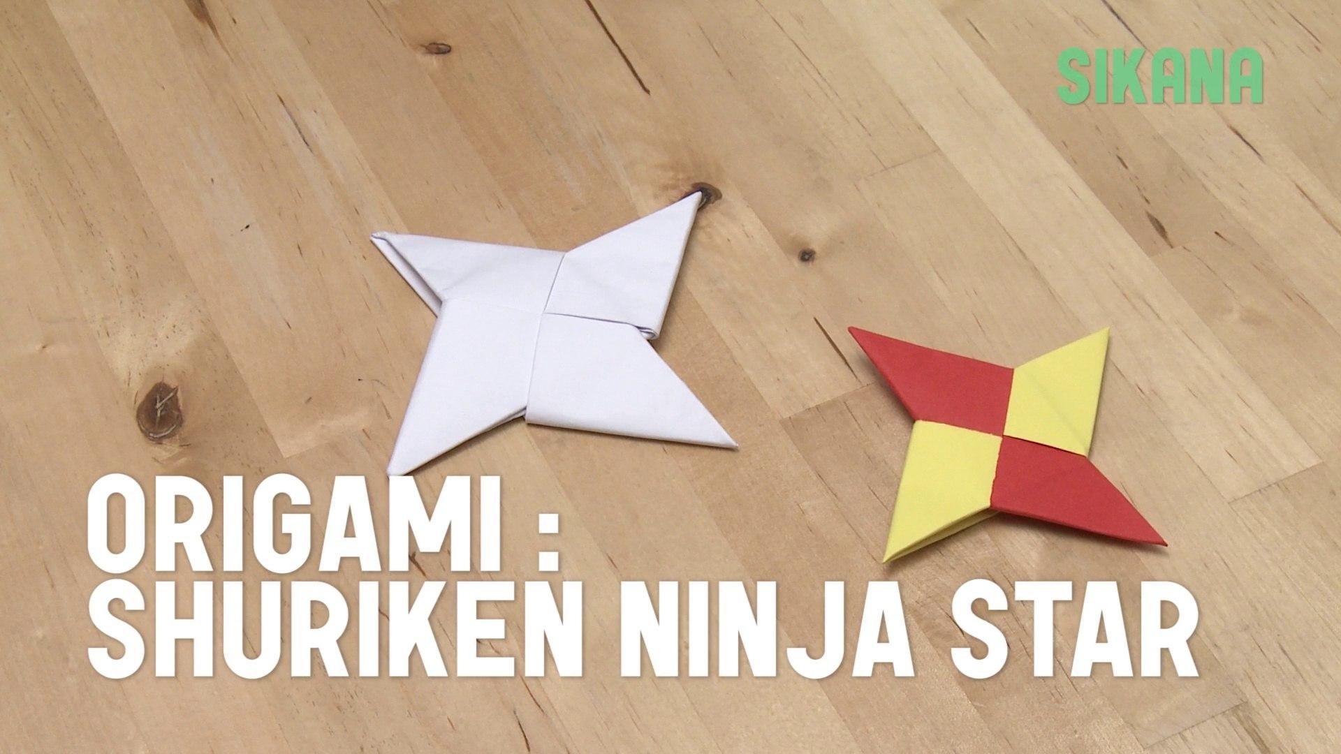 How to make an Origami Ninja Star (Easy Tutorial) - YouTube | 1080x1920