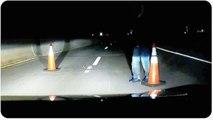 Potential Car Jacking | Suspicious Road Block