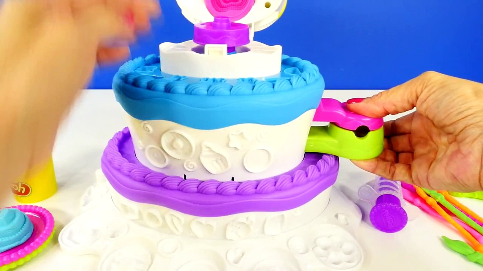Pleasing Play Doh Birthday Cake Mountain 2 In 1 Sweet Shoppe Playdough Cake Personalised Birthday Cards Veneteletsinfo