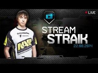 Na`Vi.Straik - Стрим с Анигилятором - 22.08.14 [18+]