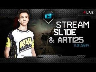 Na'Vi.SL1DE & Arti25 random stream