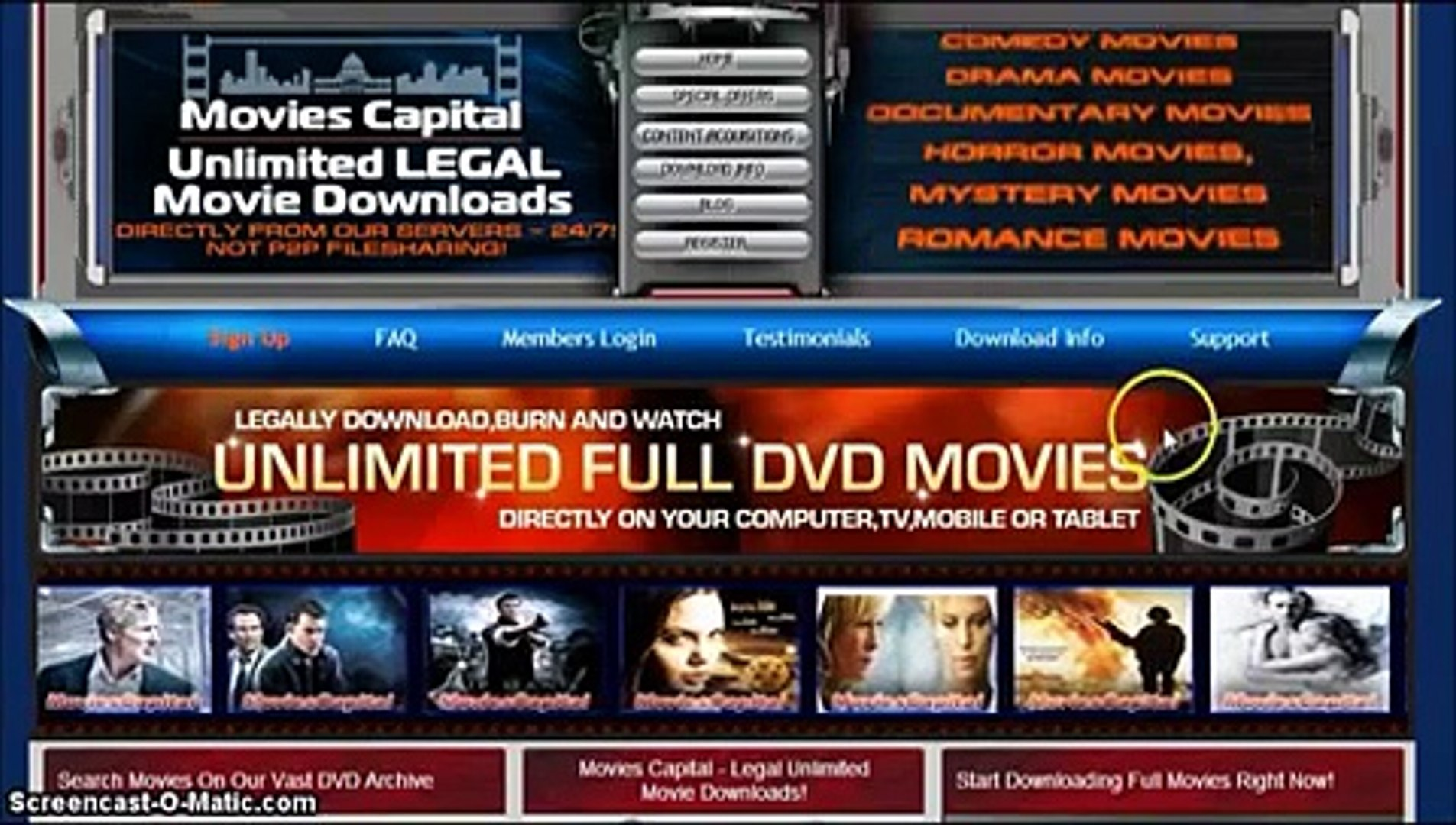 UNLIMITED Download Movies Legal Movies Capital Review - Updated 2014