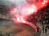 Tifo Ultras Baresi in Curva Nord (stagione 2003-04)