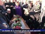 Obsèques simples et familiales pour le légendaire guitariste Manitas de Plata