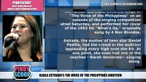 Karla Estrada's The Voice Of The Philippines Audition Is A Dream Come True