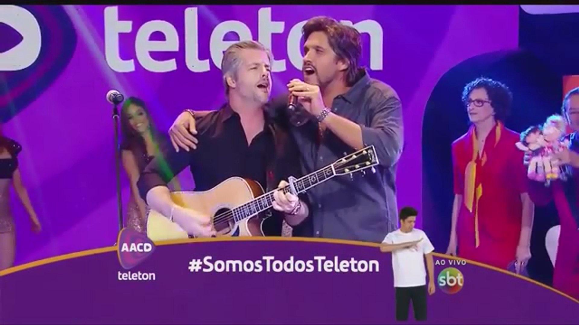 Victor & Leo no Teleton - Linha do Tempo