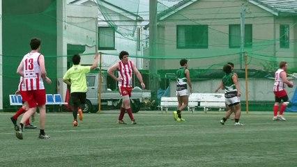 20141108 POWERS vs GOANNAS Q4 専修パワーズ対東京ゴアナーズ - AFL Japan Top League