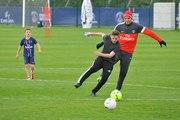 Quand le fils Beckham enchaînait les skills face à Thiago Silva