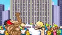 Des bagarres en mode Street Fighter