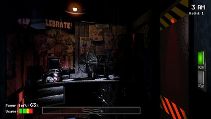 MagnusTheBrony Plays: 5 Nights At Freddy's with Reaction Cam