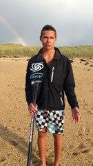 Itw Arthur Arutkin Champion de France SUP race Beach race 2014