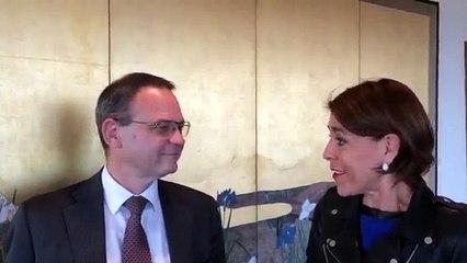 Frédéric Lavenir, Directeur Général de CNP Assurances soutient Femmes en vue