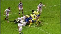 TOP14 - Clermont-Stade Français: Essai 1 Naipolioni Nalaga (CLE) - J11 - Saison 2014/2015