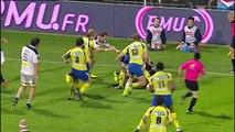 TOP14 - Clermont-Stade Français: Essai 2 Naipolioni Nalaga (CLE) - J11 - Saison 2014/2015