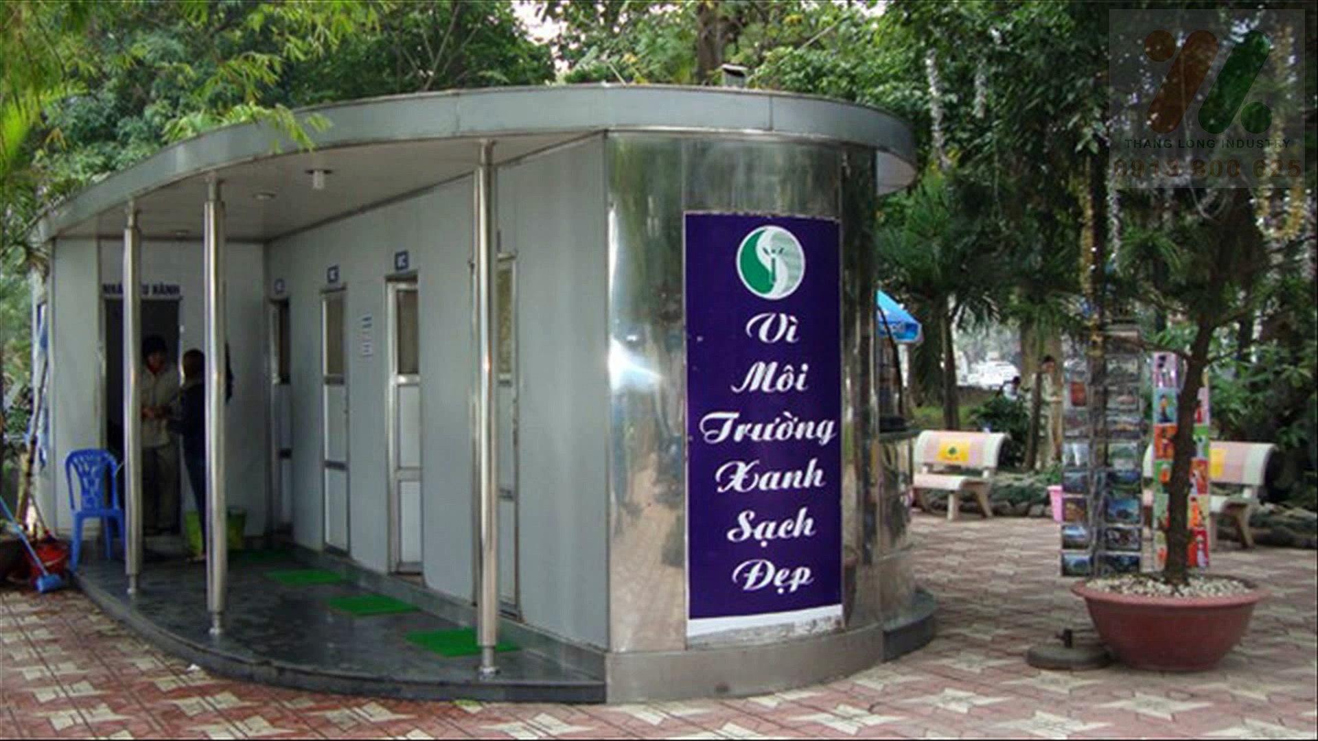 Nhà vệ sinh di động Thăng Long