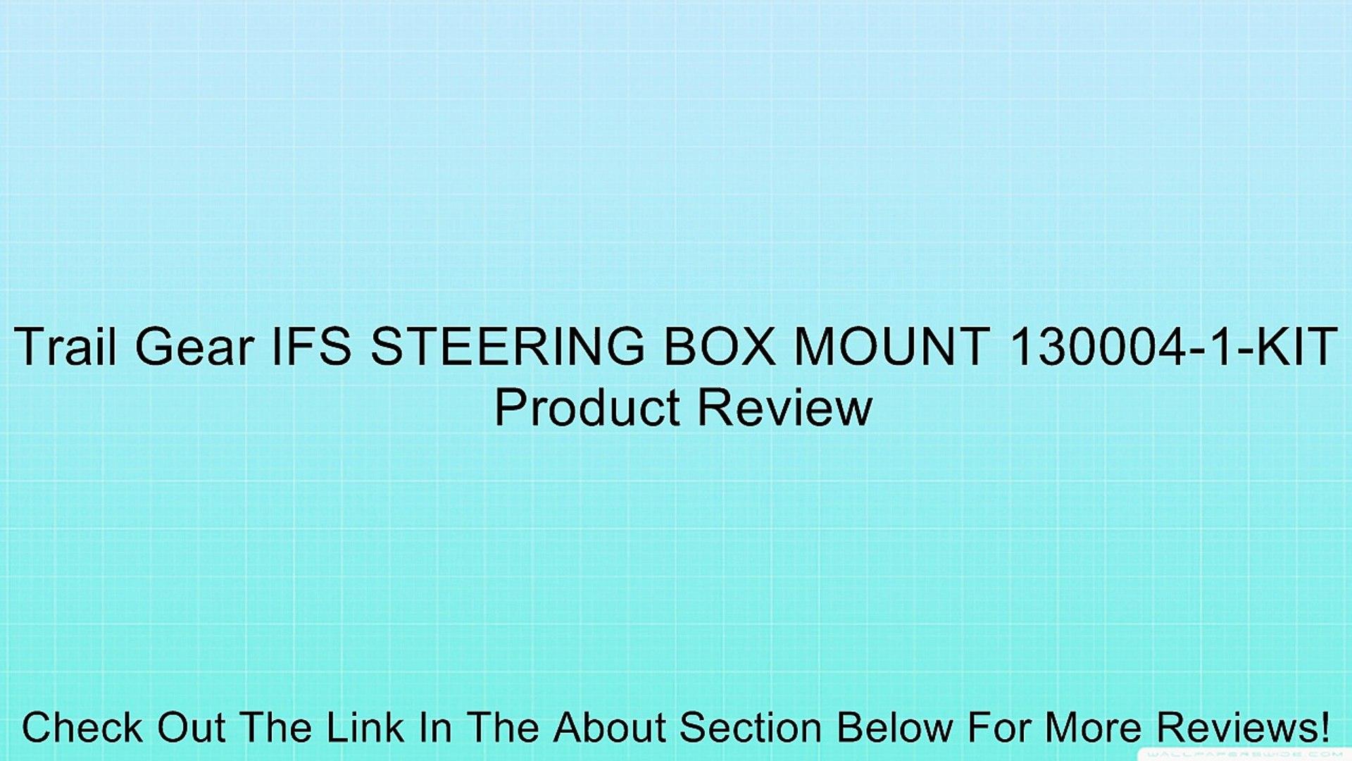 Trail-Gear 130004-1-KIT IFS Steering Box Mount