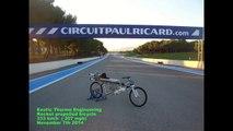 François Gissy atteint 333 km/h en vélo-fusée