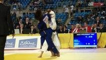 France 1D 2014 -52kg : Priscilla Gneto (Levallois) - Lucile Duport (Mulhouse)