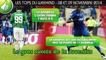 Arsenal, Juventus, Lille... les tops et les flops du weekend !