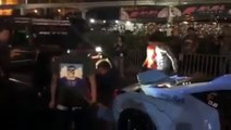 Une Ferrari 458 tuning se fait percuter par une Jeep